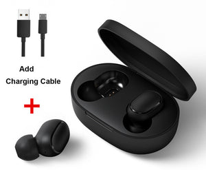 Original Xiaomi Redmi Airdots TWS Bluetooth Earphone Stereo bass BT 5.0 Eeadphones With Mic Handsfree Earbuds AI Control