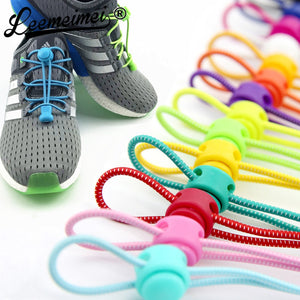 Shoelaces Unisex Elastic Shoe Laces For Men Women All Sneakers Fit Strap Sport Shoes lazy lock laces cordones elasticos zapatill