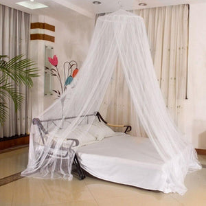 Elegant Dome Mosquito Repellent Insect Reject Blue, Pink, White Mosquito Solid Bed None Net Round