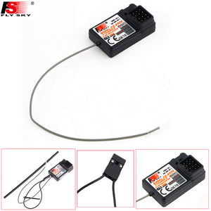 Flysky FS-GR3E 3 Channel 2.4G GR3E Receiver with Failsafe GT3B GR3C Upgrade for RC Car Truck Boat GT3 GT2 Transmitter