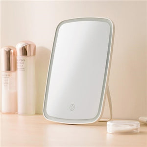 Xiaomi Mijia LED makeup mirror Touch-sensitive control LED natural light fill adjustable angle Brightness lights long battery li
