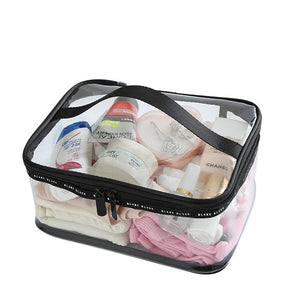Waterproof Transparent PVC Cosmetic Bag Women Make Up Case Travel Clear Makeup Beauty Wash Organizer