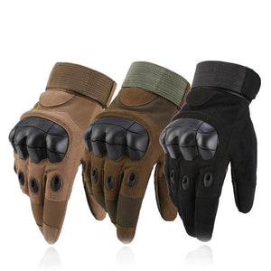 Mens Military Tactical Full FingerGloves Hard Knuckle Gloves for Shooting Airsoft Motorcycle Outdoor Gloves