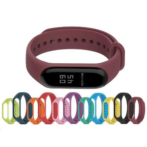 Mijobs Bracelet for Xiaomi Mi Band 4 3 Sport Strap Watch Silicone Wrist Strap For Xiaomi Mi Band 3