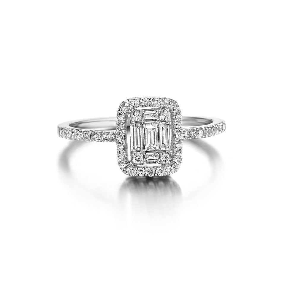 BAGUE DIAMANTS ASTORG 1895