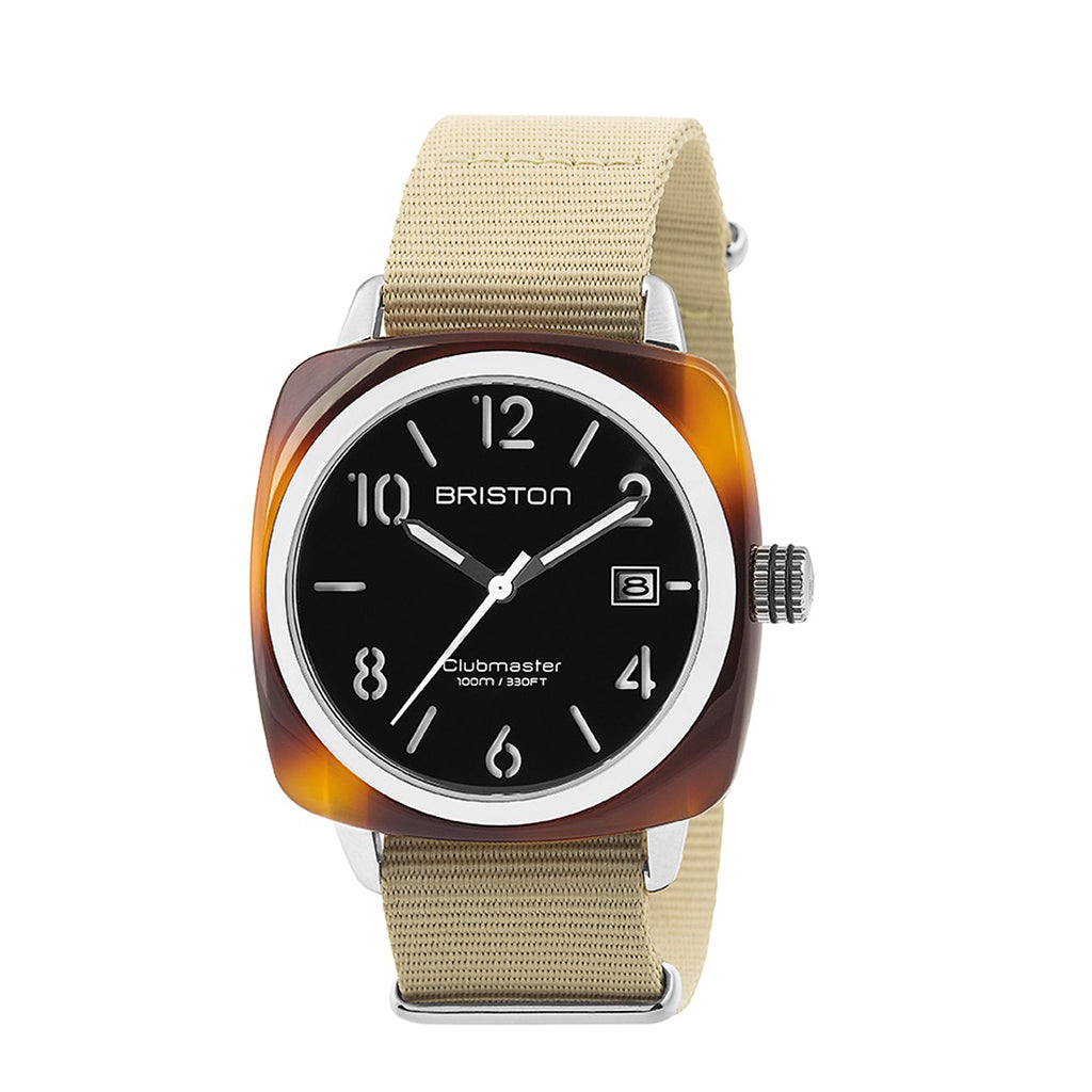 MONTRE BRISTON CLUBMASTER CLASSIC ACETATE GOLD
