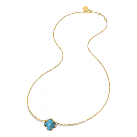 MORGANNE BELLO COLLIER VICTORIA ONYX OR JAUNE 750