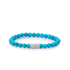 BRACELET REBEL & ROSE TURQUOISE DELIGHT 6MM