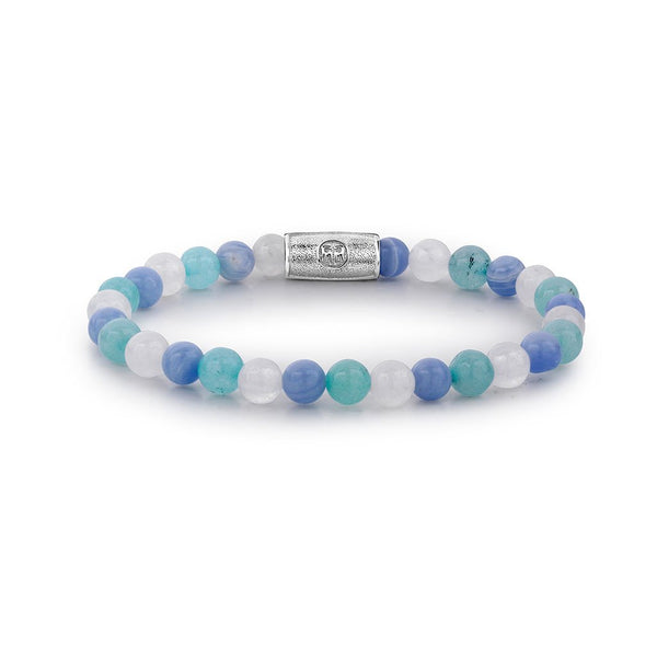 BRACELET REBEL & ROSE BLUE SUMMER VIBES 6MM