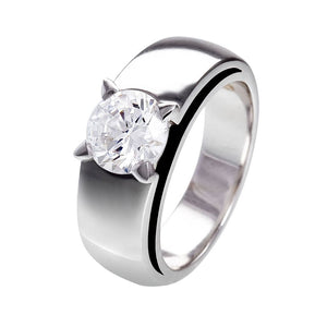 BAGUE OR BLANC DIAMANTS ASTORG 1895