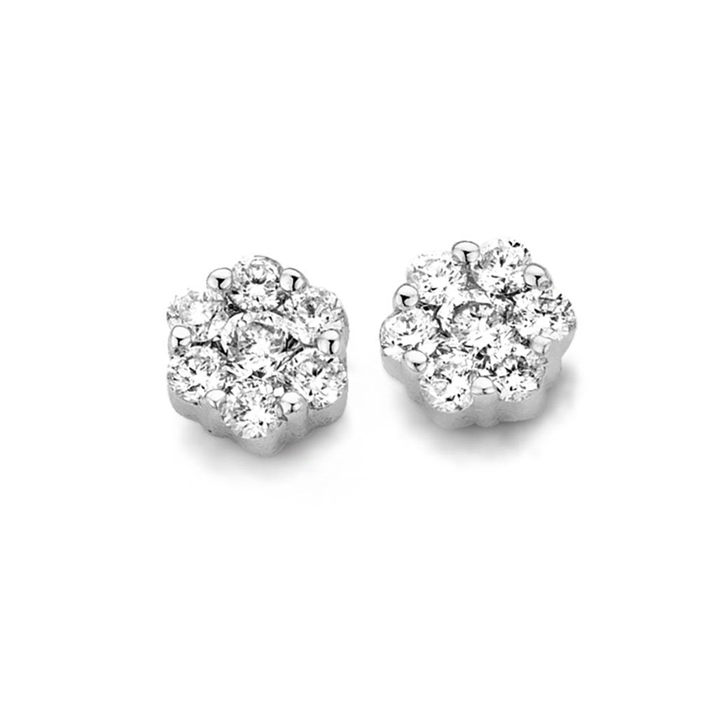 BOUCLES D'OREILLES DIAMANTS ASTORG 1895