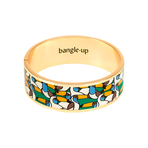 BANGLE-UP BRACELET JANGALA Vert Emeraude