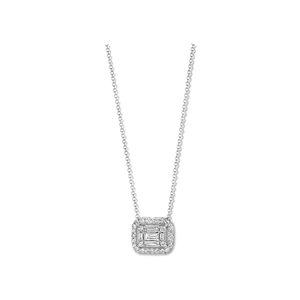 COLLIER OR BLANC DIAMANTS ASTORG 1895