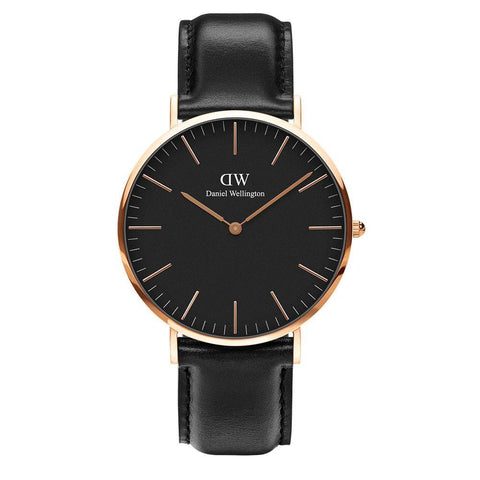 DANIEL WELLINGTON CLASSIC BLACK SHEFFIELD 40 MM