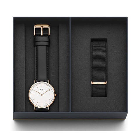 DANIEL WELLINGTON COFFRET CLASSIC SHEFFIELD 40 MM