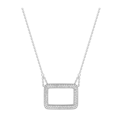 COLLIER ARGENT GUY LAROCHE RAYURES