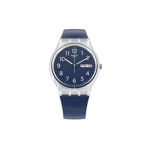 MONTRE SWATCH RINSE REPEAT NAVY