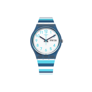 MONTRE SWATCH STRIPED WAVES
