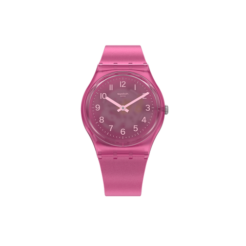 MONTRE SWATCH BLURRY PINK