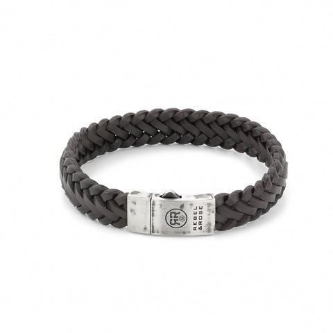 BRACELET REBEL & ROSE BRAIDED RAW MAT EARTH