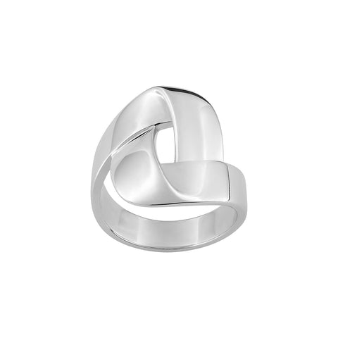 BAGUE SILVER ISLAND S37004.01