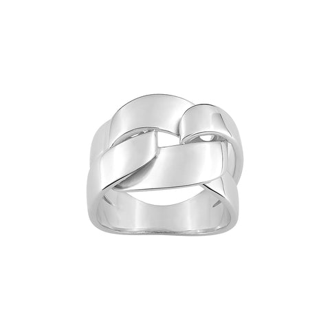 BAGUE SILVER ISLAND S37005.01