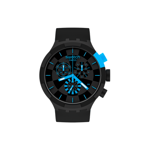 MONTRE SWATCH CHECKPOINT BLUE