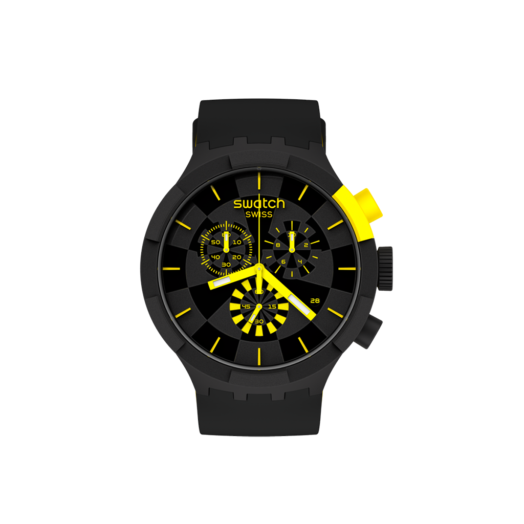 MONTRE SWATCH CHECKPOINT YELLOW