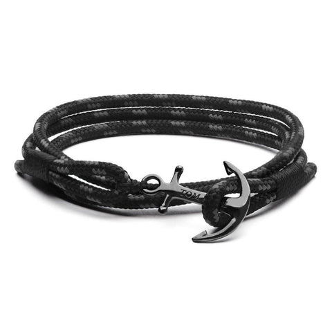 BRACELET TOM HOPE TRIPLE BLACK
