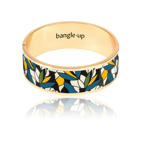 BANGLE-UP BRACELET BAGHEERA BLEU CANARD