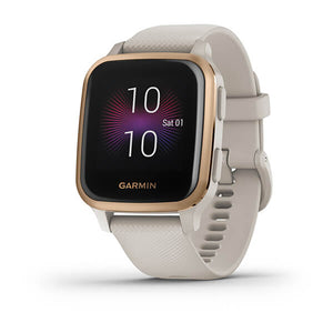 MONTRE CONNECTEE GARMIN Venu® Sq Music Edition Light Sand/Rose Gold 010-02426-11