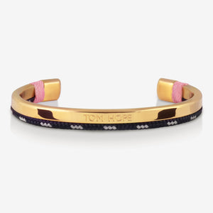 BRACELET TOM HOPE HYBRID CUFF CORAL PINK GOLD