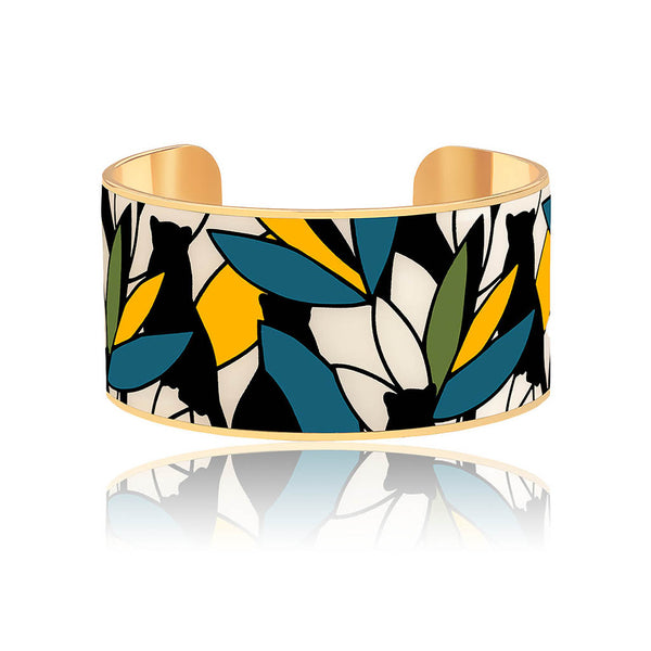 BANGLE-UP MANCHETTE BAGHEERA BLEU CANARD