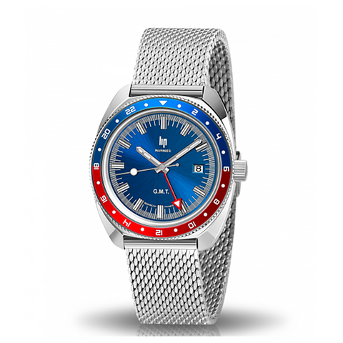 MONTRE LIP MARINIER GMT