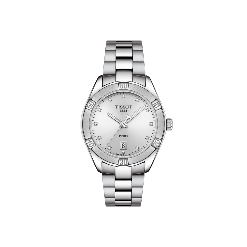 TISSOT PR 100 SPORT CHIC INDEX DIAMANTS