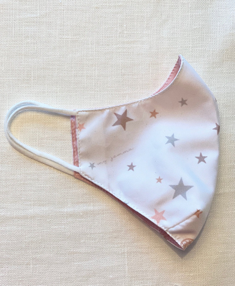 Mask in Star mix print - Adult size
