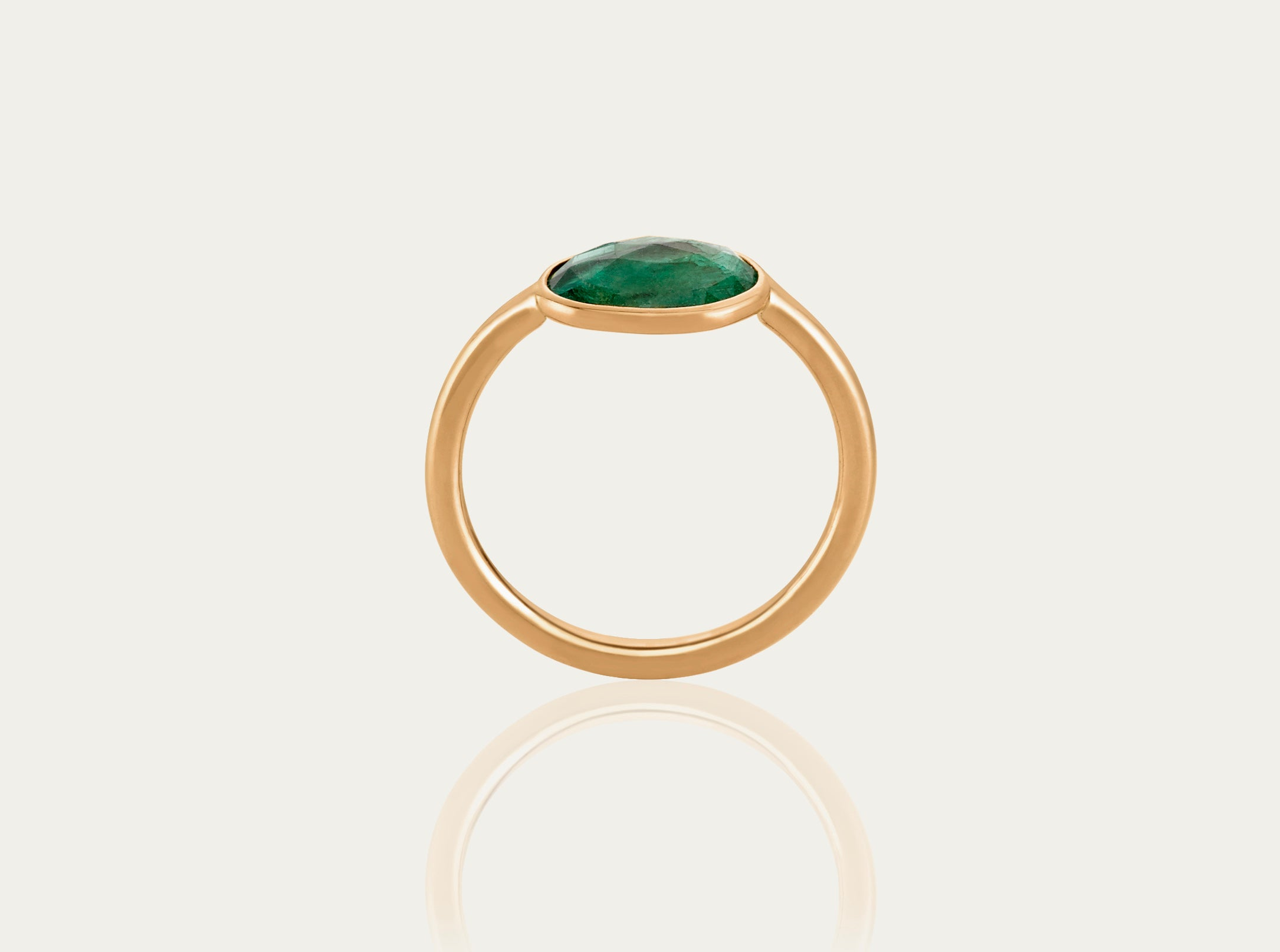 Else Emerald Ring