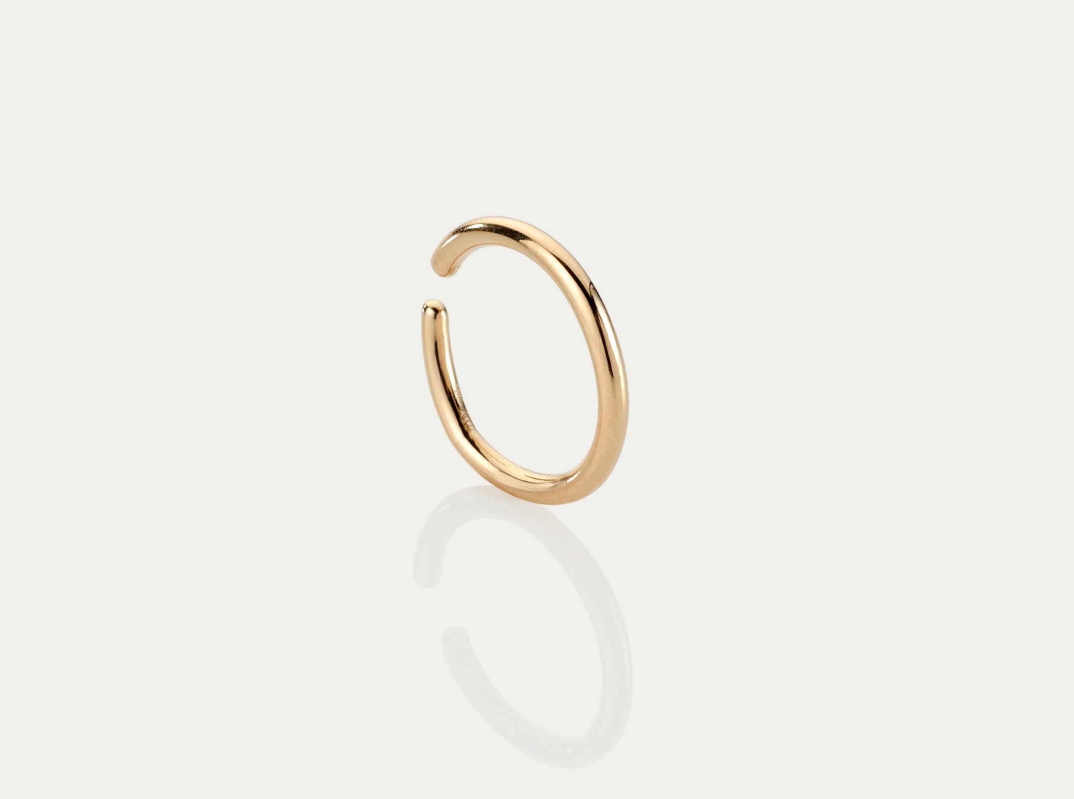 gold earcuff ear bangle 18K