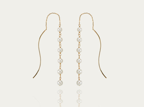 Allegro Ear bar 18K Yellow Gold