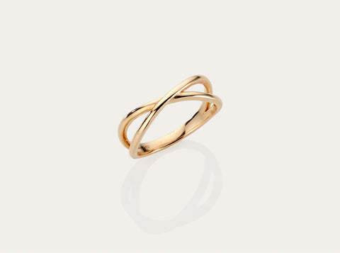 Lune Gold Ring (medium)