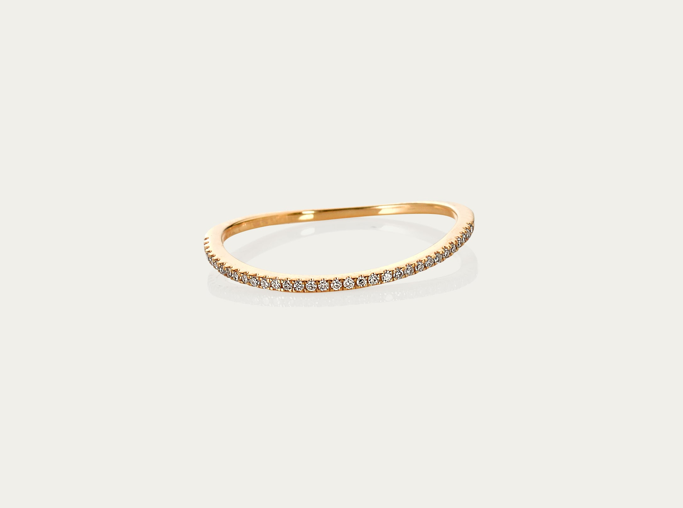 diamond ring yellow gold 18K