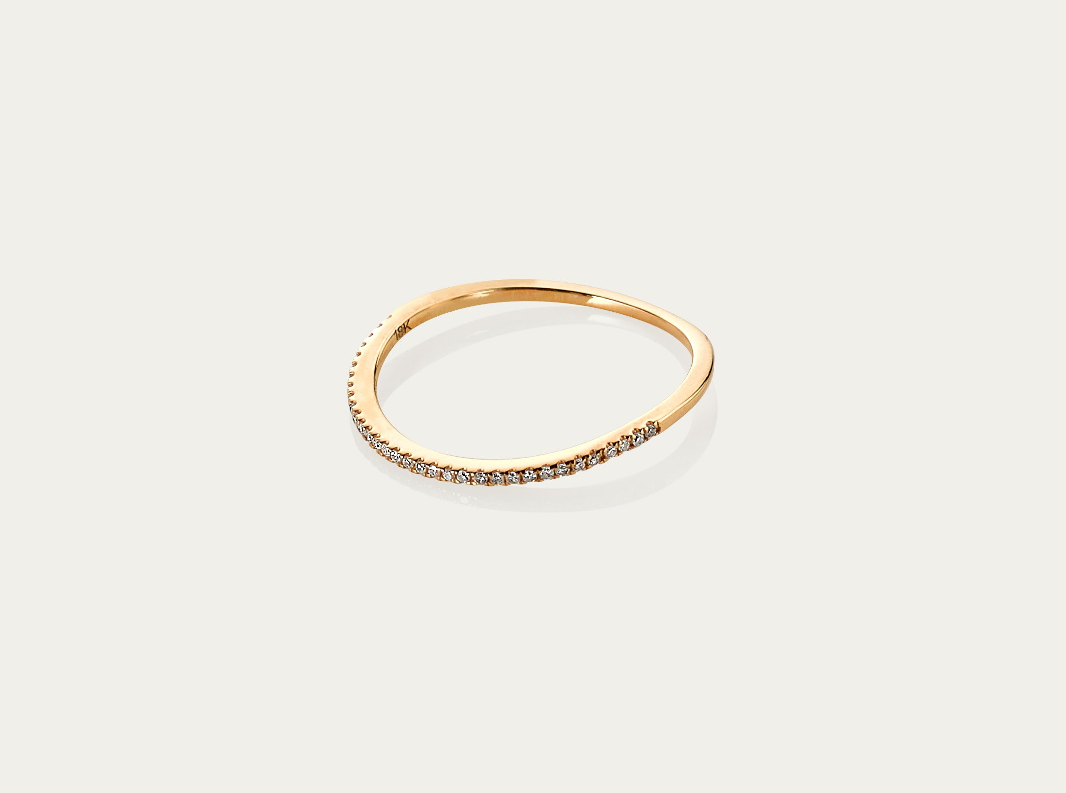 diamond ring 18k yellow gold