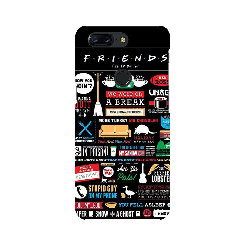 TraTec FRIENDS Printed Case For OnePlus 5T