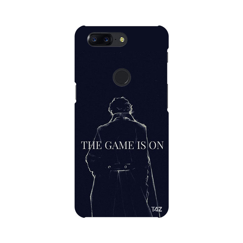 TraTec Sherlock Printed Case For OnePlus 5T