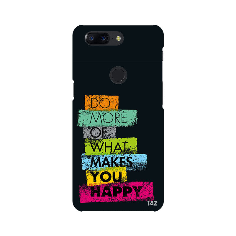 TraTec Typography Printed Case For OnePlus 5T