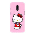 Feminine - Hello Kitty Printed Case For OnePlus 7