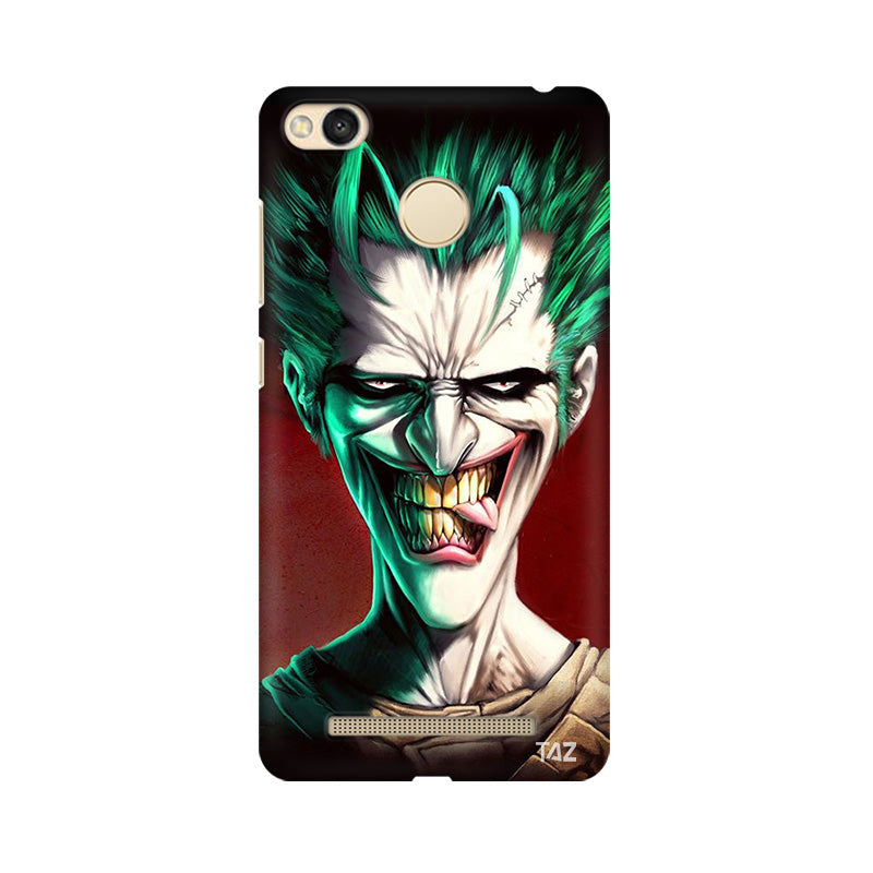 TraTec Joker Printed Case For Xiaomi Redmi 3s Prime