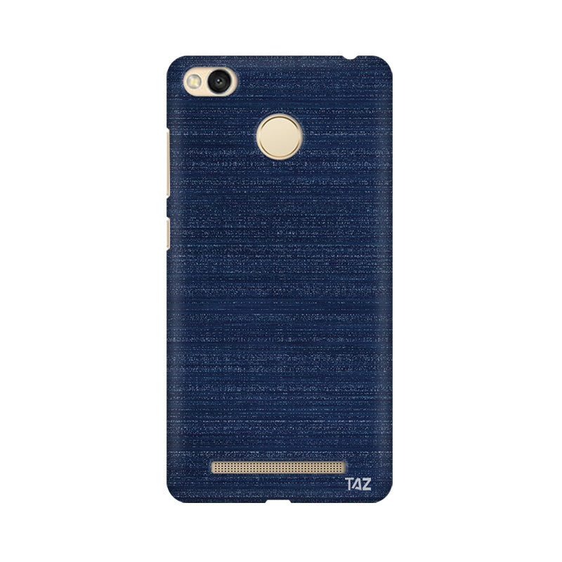 TraTec Denim Printed Case For Xiaomi Redmi 3s Prime