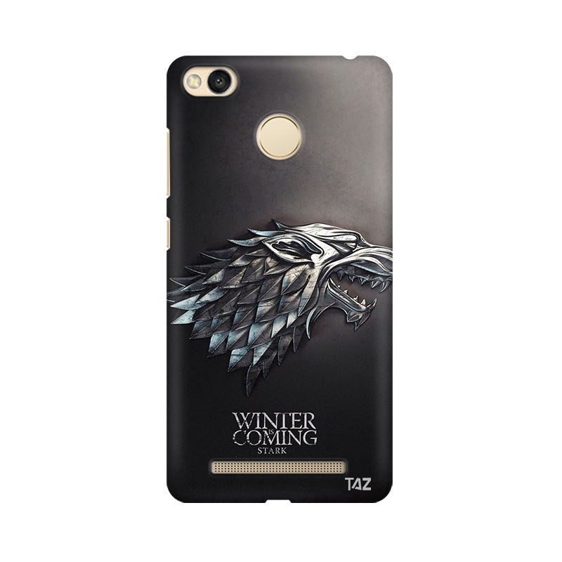 TraTec Game Of Thrones - House of Stark Printed Case For Xiaomi Redmi 3s Prime