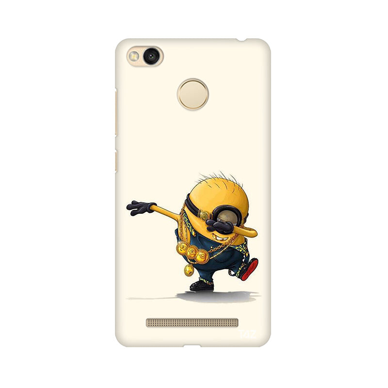 TraTec Minion - Dab Printed Case For Xiaomi Redmi 3s Prime